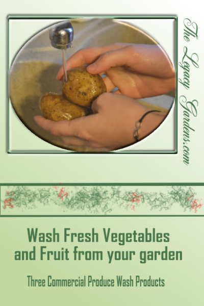 Happy to clean your produce – 3 produce washes for your fruits and veggies