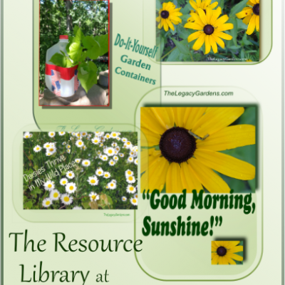 Lots of Goodies in the Resource Library!