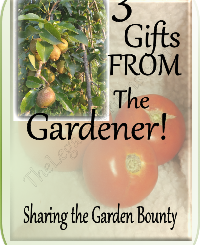 image featuring produce as gift from the garden