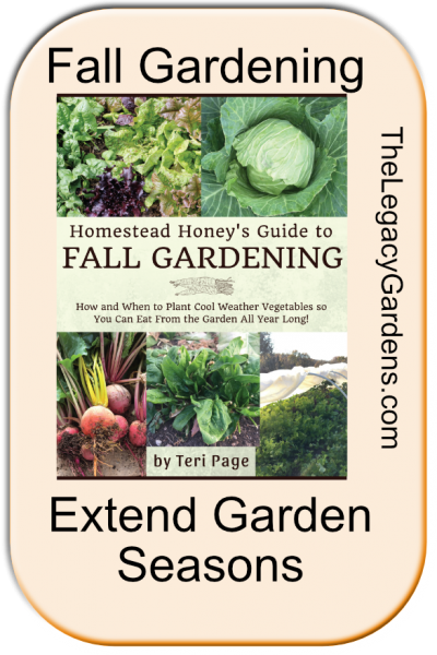 Planting a Fall Garden — A Helpful Fall Garden Guide and Planner